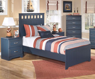 Leo Panel Bed Twin Size | Ashley Furniture | ASB103-515282