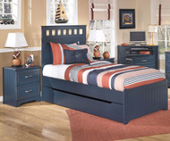 Leo Panel Bed with Trundle Twin Size | Ashley Furniture | ASB103-515282X