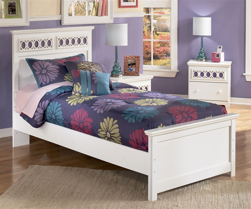 Ashley furniture zayley panel bed for girls zayley panel for Bedroom furniture sets tampa fl