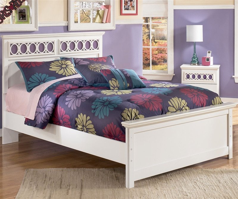 Ashley Furniture Zayley Full Panel Bed For Girls Zayley Panel Bed Full Size With Trundle