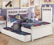Zayley Full Size Panel Bed with Trundle Storage Unit | Ashley Furniture | ASB131-848687XX