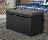 Javarin Upholstered Storage Bench | Ashley Furniture | ASB171-209