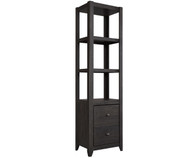 Javarin Bookcase Charcoal | Ashley Furniture | ASB171-220