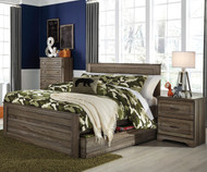 Javarin Panel Bed with Trundle Full Size | Ashley Furniture | ASB171-848687T