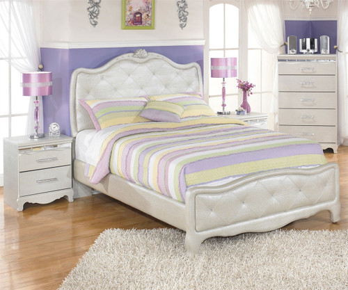 Zarollina B182 Full Size Upholstered Bed | Girl\'s bedroom sets ...