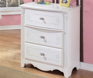 Exquisite 3 Drawer Chest | Ashley Furniture | ASB188-43