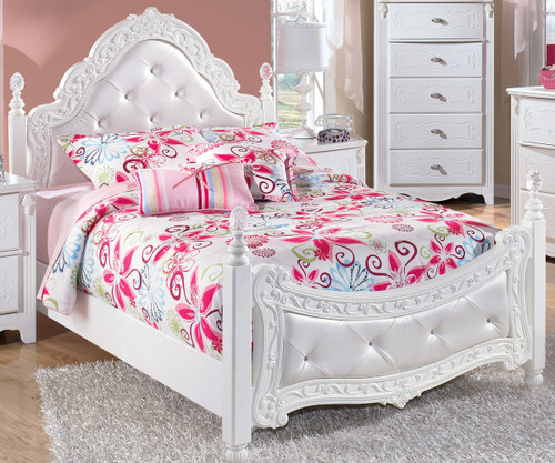 Exquisite Full Size Poster Bed | Ashley Furniture | ASB188 72