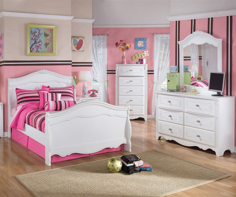 Ashley Furniture Exquisite Full Size Sleigh Bed Kids