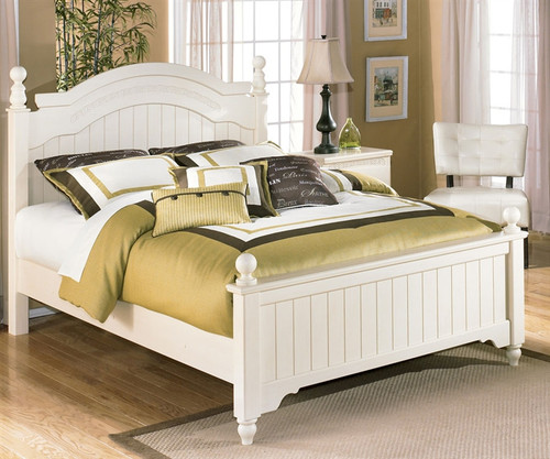 Cottage Retreat Full Poster Bed | Ashley Furniture | ASB213 54NX