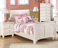 Cottage Retreat Twin Sleigh Bed | Ashley Furniture | ASB213-63NX