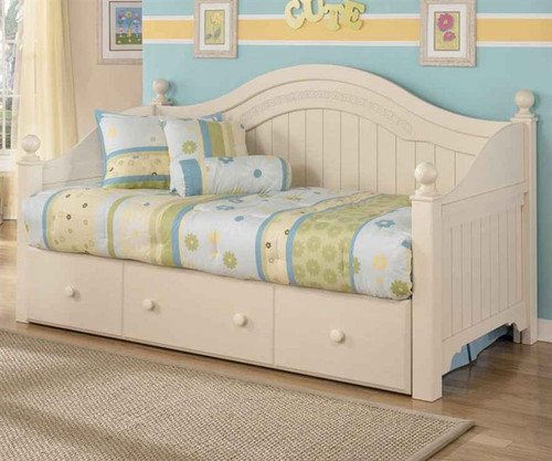 cottage retreat day bed with trundle ashley furniture asb21380