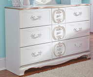 Korabella 6 Drawer Dresser | Ashley Furniture | ASB355-21