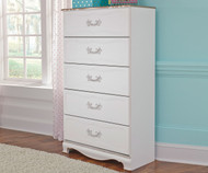 Korabella 5 Drawer Chest | Ashley Furniture | ASB355-46