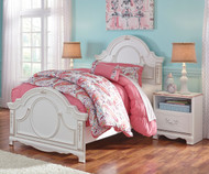 Korabella Panel Bed Twin Size | Ashley Furniture | ASB355-535283