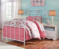 Korabella Metal Bed Twin Size | Ashley Furniture | ASB355-71