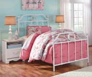 Korabella Metal Bed Full Size | Ashley Furniture | ASB355-72