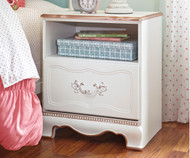 Korabella 1 Drawer Nightstand | Ashley Furniture | ASB355-91