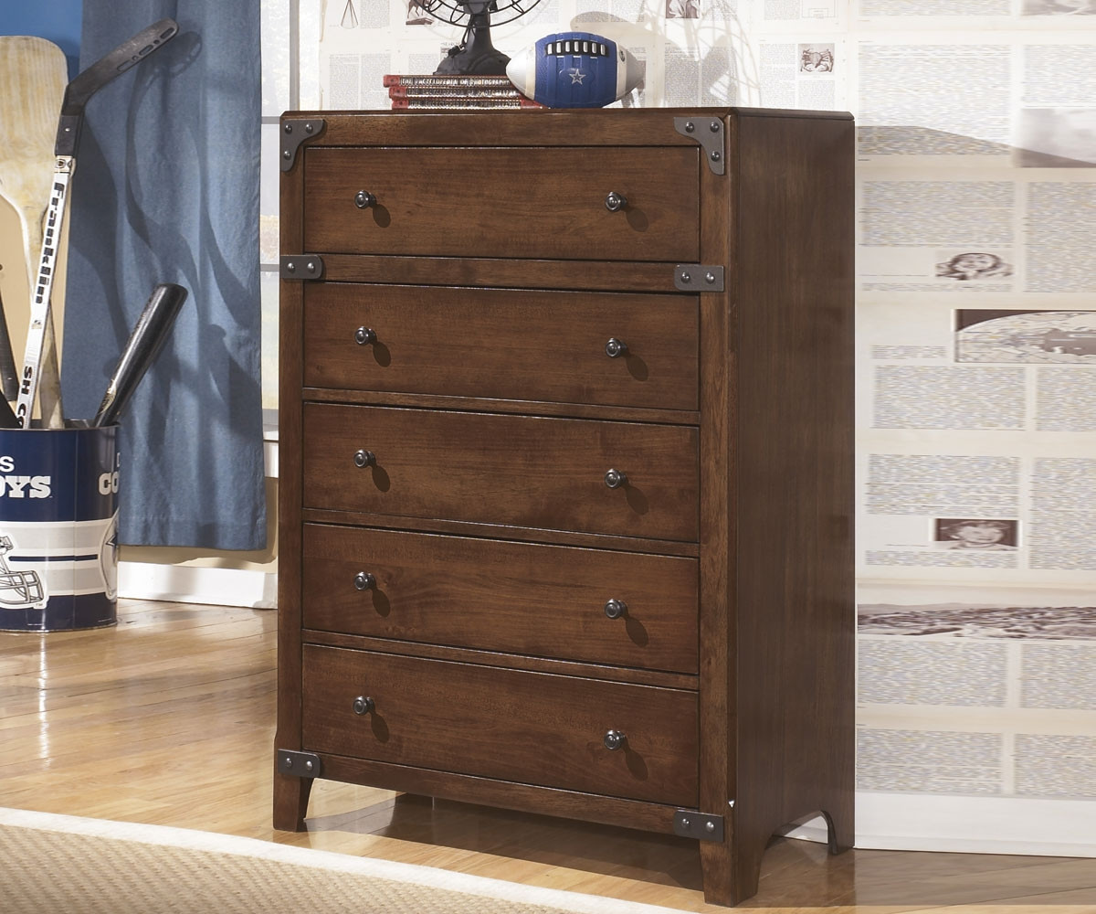 Ashley furniture delburne 5 drawer chest ashley kids for Spring hill designs bedroom furniture