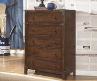 Delburne Five Drawer Chest | Ashley Furniture | ASB362-45