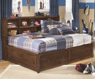 Delburne Bookcase Studio Bed Full Size | Ashley Furniture | ASB362-518885
