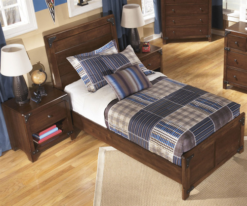 Delburne Panel Bed Twin Size
