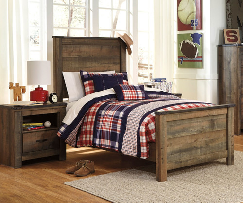 Trinell B446 Twin Size Panel Bed