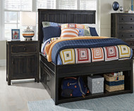 Jaysom Storage Panel Bed Twin Size | Ashley Furniture | ASB521-5352S83S60