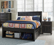 Jaysom Storage Panel Bed Full Size | Ashley Furniture | ASB521-6084S86S87