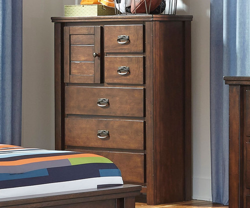 Gentil Ladiville 5 Drawer Chest | Ashley Furniture | ASB567 45