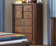 Ladiville 5 Drawer Chest | Ashley Furniture | ASB567-45