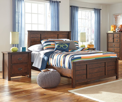 ladiville b567 panel bed full size ashley furniture
