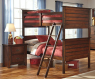 Ladiville Bunk Bed | Ashley Furniture | ASB567-59P59R59S