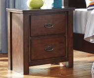 Ladiville 2 Drawer Nightstand | Ashley Furniture | ASB567-92
