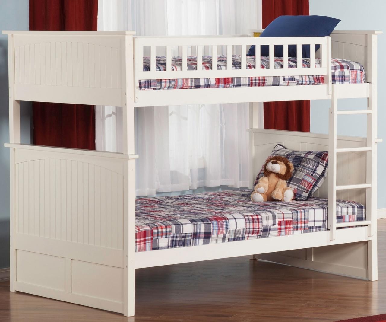 nantucket full over full bunk bed ab59502 atlantic furniture solid wood bedroom furniture in. Black Bedroom Furniture Sets. Home Design Ideas