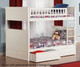 Nantucket Bunk Bed Full over Full White | 24082 | ATL-AB59502