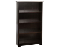 Atlantic 4 Tier Bookcase Espresso | Atlantic Furniture | ATL-C-69301