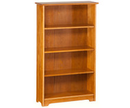 Atlantic 4 Tier Bookcase Caramel Latte | Atlantic Furniture | ATL-C-69307