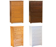 CLEARANCE Windsor 5 Drawer Chest - Antique Walnut | Atlantic Furniture | ATL69420X-SD