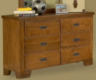 Heartland Double Dresser | American Woodcrafters | AW1800-260