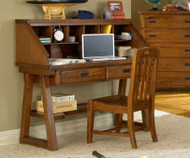 Heartland Desk with Hutch | American Woodcrafters | AW1800-343