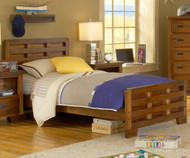 Heartland Panel Bed Full Size | American Woodcrafters | AW1800-46CPB