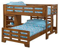 Heartland Low Loft Bed with Lower Bed | American Woodcrafters | AW1800-LLCA