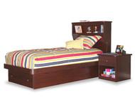 Bookcase Platform Bed Twin Size | Berg Furniture | BG22-68-XX
