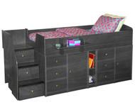 Sierra Captain's Bed with Storage 1 | Berg Furniture | BG22-731-XXX