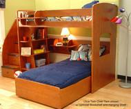 Utica Twin over Twin Loft Bed | Berg Furniture | BG23-805