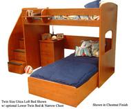 Utica Loft Bed | Berg Furniture | BG23-825