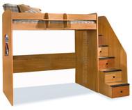 Utica Dorm Loft Bed | Berg Furniture | BG23-835