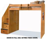 Utica Dorm Loft Bed Full Size | Berg Furniture | BG23-905-XX