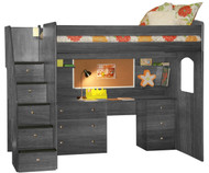 Utica Full Size Loft Bed 1 | Berg Furniture | BG23-905-XXX