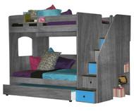Utica Full over Full Bunk Bed 1 | Berg Furniture | BG23-935-XXX